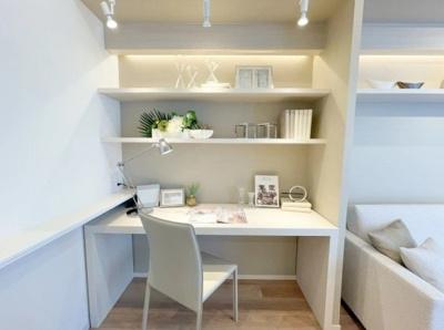 クラッシィハウス芝浦の書斎スペースです。