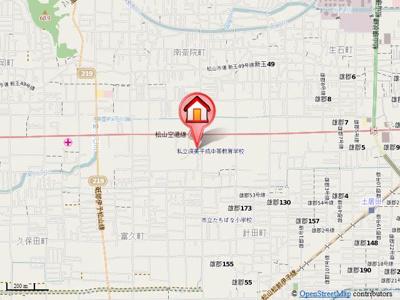 【地図】岡崎第7ビル