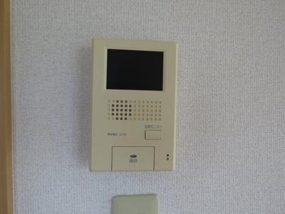 モニター付きインタフォン