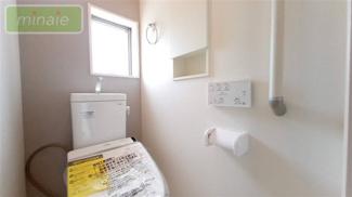 ゆったりとした空間のトイレです 同仕様施工例