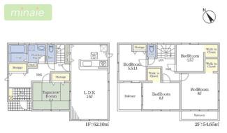 3台駐車可 WIC×3 千葉市花見川区こてはし台 限定一区画