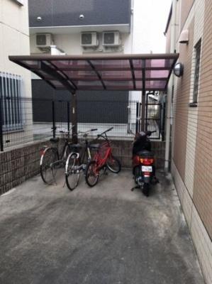 【駐車場】ヴィレッジ・F