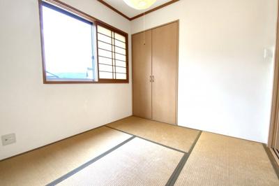 《和室4.5帖》和室にはしっかり収納も完備されています。