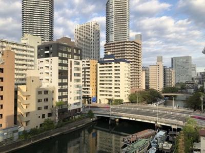 【展望】月島ハイツ 8階 リ ノベーション済 勝どき駅3分 月島駅5分