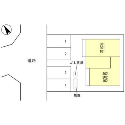 【区画図】クラリス