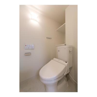 【トイレ】ユーストリア駒沢 駅近 2人入居おすすめ 1Fスーパー