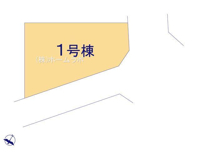 【区画図】【新築】鶴ヶ島市藤金新築分譲住宅 全1棟