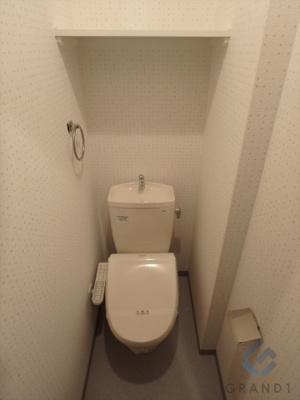 ウォシュレット付トイレです♪