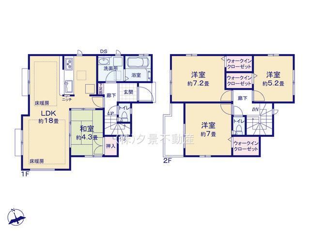 中央区大戸6丁目12-10新築一戸建てグラファーレ