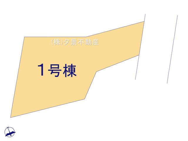 【区画図】中央区大戸6丁目12-10新築一戸建てグラファーレ