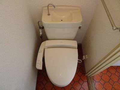 【トイレ】シイダーハイツ
