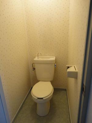 トイレもきれいです(同物件別部屋の写真)