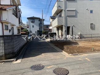 【前面道路含む現地写真】富士見市鶴瀬西3丁目 新築戸建