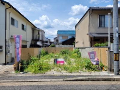 【外観】左京区一乗寺青城町 建築条件付 売土地