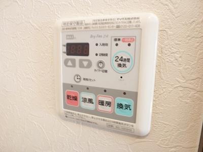 敷地内の駐輪場です