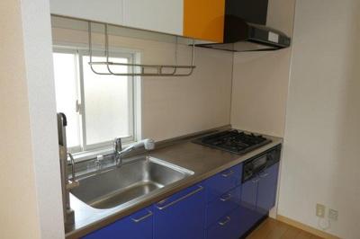 3口ガスコンロ付システムキッチン