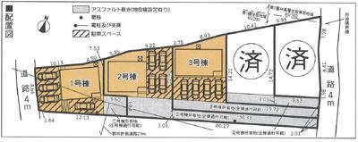 【区画図】沼津市大岡 20期 新築一戸建て 3号棟 AN
