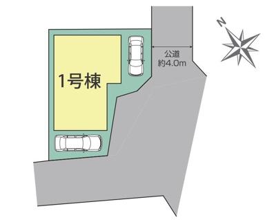 【区画図】新築戸建て 川口市芝全1棟