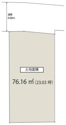 【区画図】和田1丁目~3駅利用可能!建物参考プランございます~
