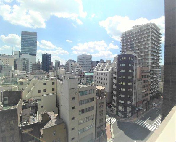 ※9階からの眺望です。【プレールドゥーク文京湯島】
