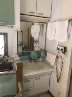 診察室内洗面台