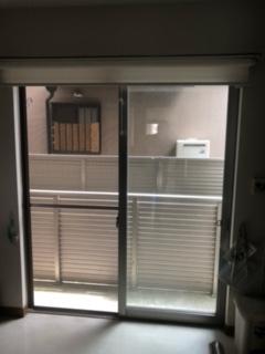 診察室 南側窓 バルコニー