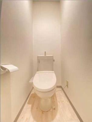 【トイレ】孔雀世田谷 礼金0 シャワーブース ウォシュレット TVドアフォン