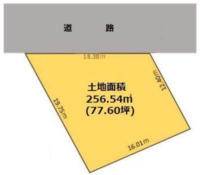 【区画図】大宮2丁目土地~お好きなハウスメーカーで建築できます~
