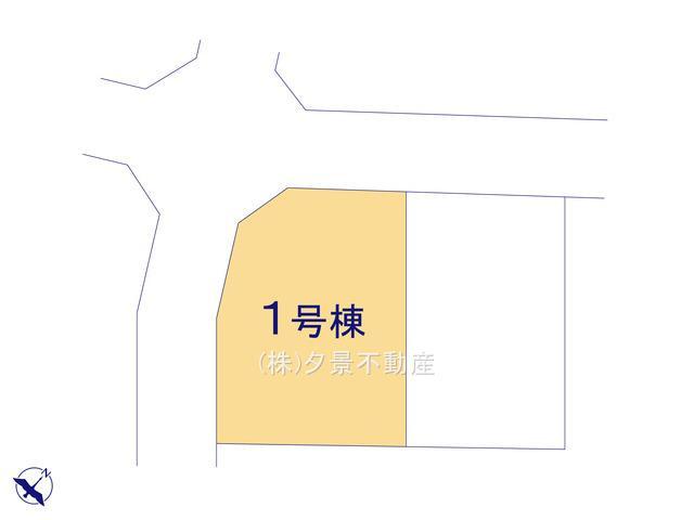 【区画図】西区大字佐知川228-22(1号棟)新築一戸建てハートフルタウン