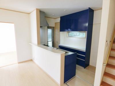 対面式のキッチンです。