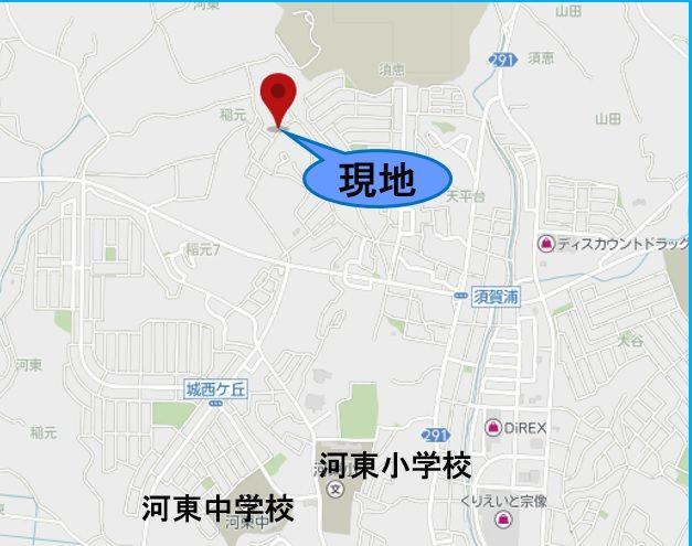 【地図】宗像市須恵4丁目新築3号棟