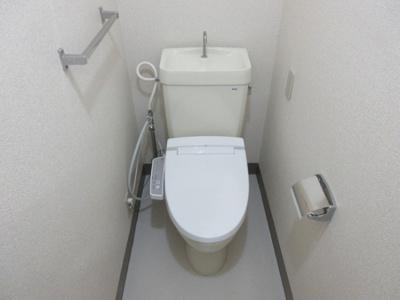 【トイレ】藤和三宿コープ 礼金0 2人入居可 独立洗面台