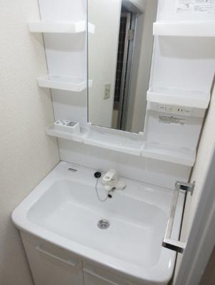 【洗面所】藤和三宿コープ 礼金0 2人入居可 独立洗面台