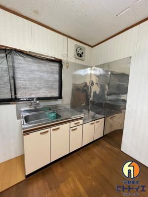 【キッチン】広川ゆのそアパート