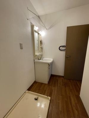 【洗面所】総社第3マンション