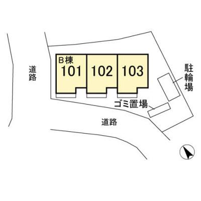 【区画図】Regalo B