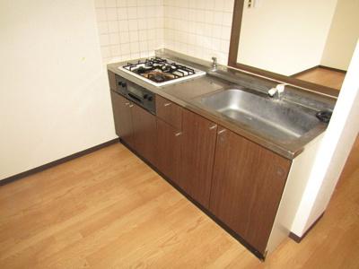 【キッチン】グランツ杉山Ⅰ