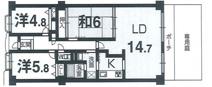 藤和コアティ高槻ハイタウンコアD棟の画像
