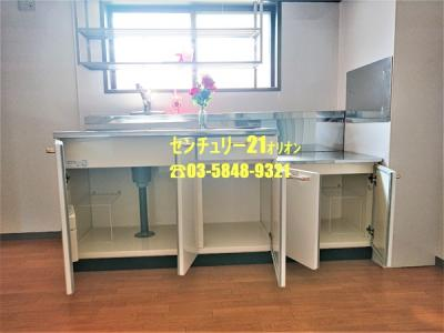 ゆとりのキッチン収納