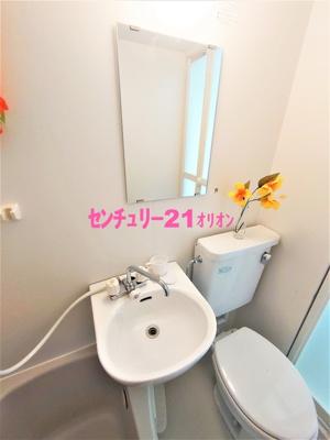 【洗面所】ライフピア・メヌエット-201