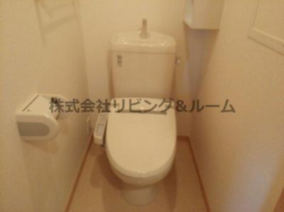 【トイレ】ウェリナ・Ⅱ棟