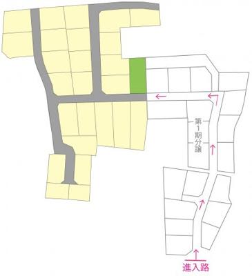 【地図】綾歌郡宇多津町東分 12号地