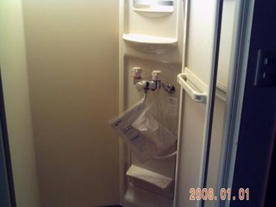 シャワー室設置済み