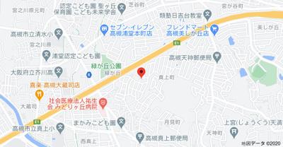【地図】フレグラントオリーブ