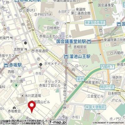 【地図】ヴィア・シテラ赤坂