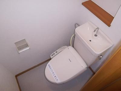 【トイレ】メゾンウエストリバー
