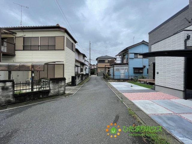 【前面道路含む現地写真】久喜市野久喜 中古一戸建て