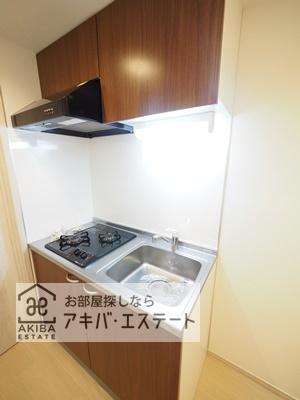 【キッチン】グランシャレー北千住