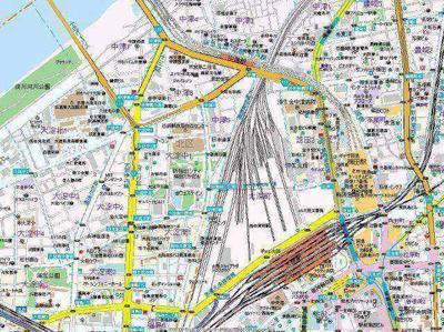 【地図】ARROW FIELDS壱番館
