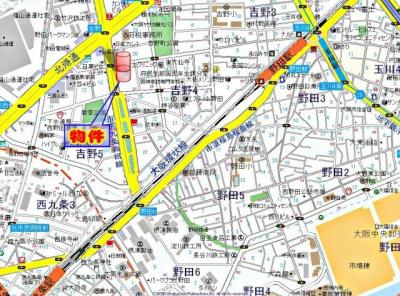【地図】ARROW FIELDS弐番館(アローフィールズニバンカン)